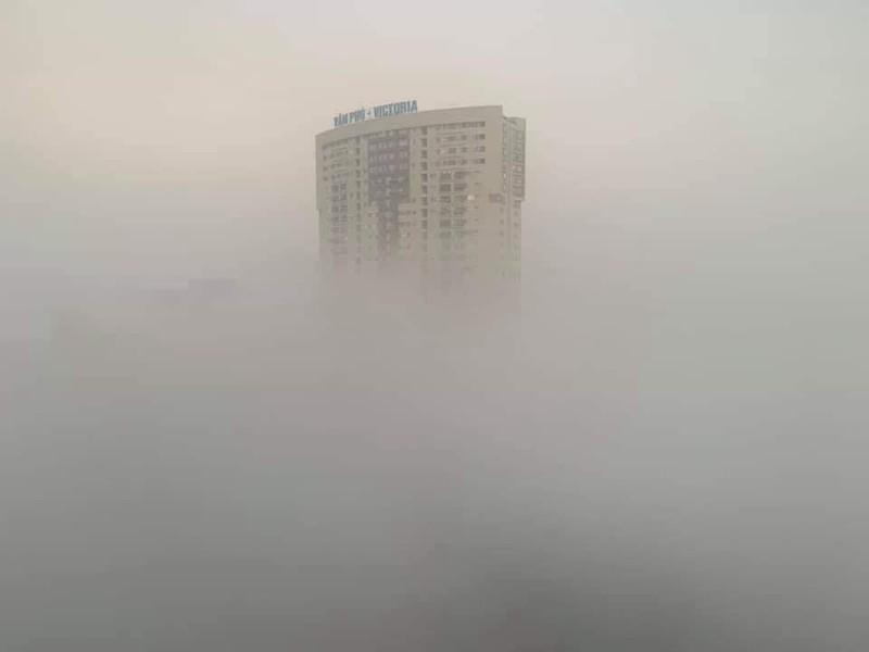 Hà Nội chìm trong sương mù như Sa Pa - ảnh 2