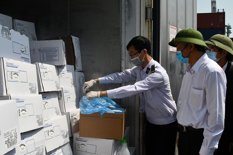 Giá thịt heo nhập về tới cảng Việt Nam chỉ khoảng 2,55 USD/kg - ảnh 1