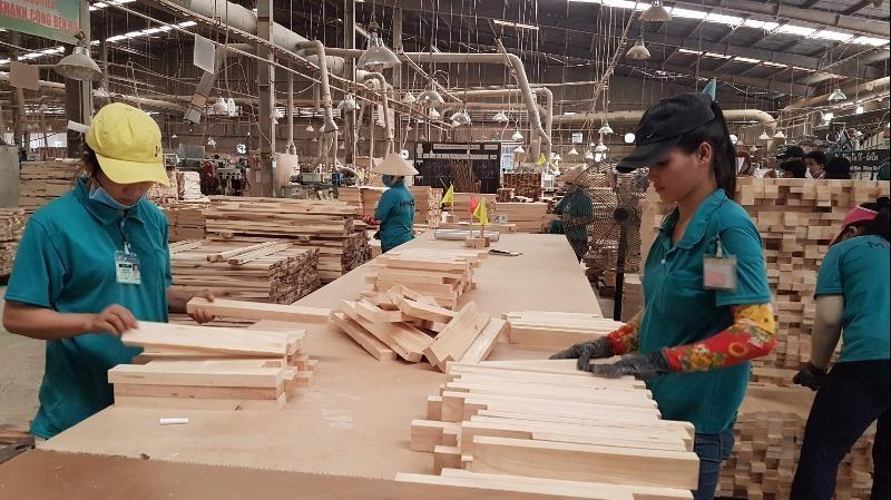 Hàng ngàn lao động ngành gỗ mất việc do COVID-19 - ảnh 1