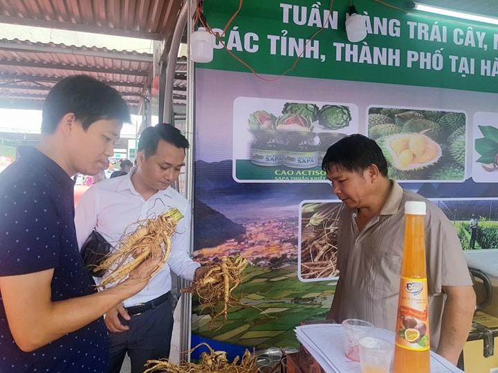 Khai mạc tuần hàng trái cây, đặc sản tại Hà Nội - ảnh 2