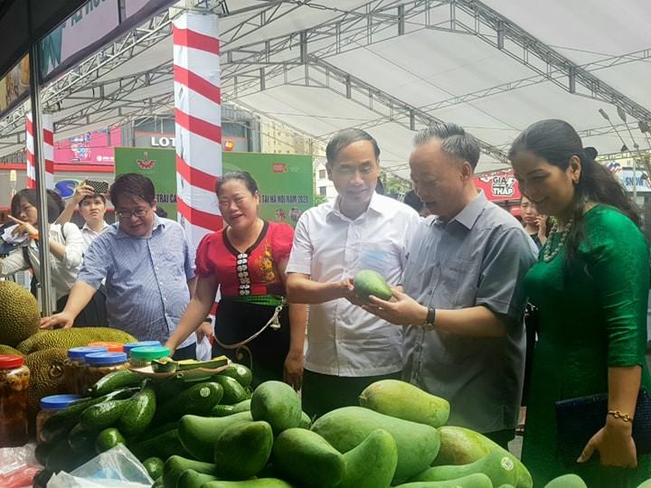 Khai mạc tuần hàng trái cây, đặc sản tại Hà Nội - ảnh 1
