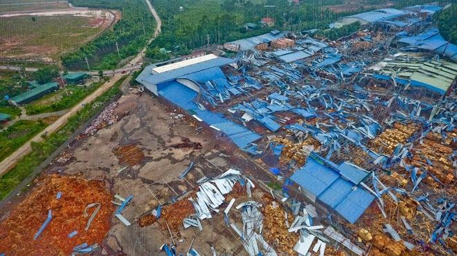 Chuyên gia khí tượng phân tích về cơn lốc xoáy ở Vĩnh Phúc - ảnh 1