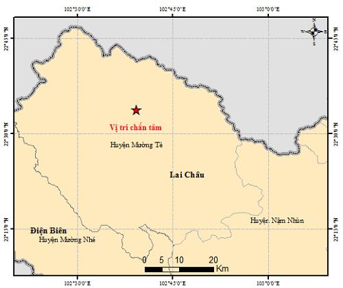 Động đất tại Lai Châu, hỏa tốc yêu cầu bảo đảm an toàn hồ đập - ảnh 1