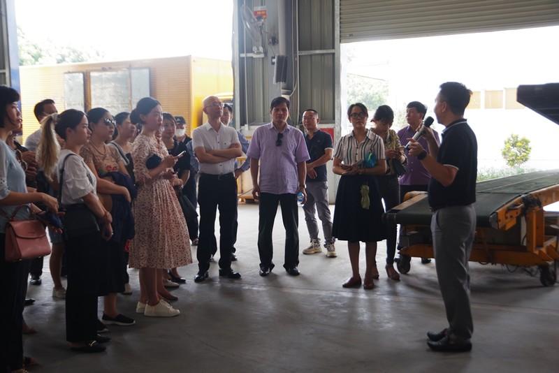 Hệ thống camera dày đặc tại các trung tâm logistics ở Hà Nội - ảnh 2