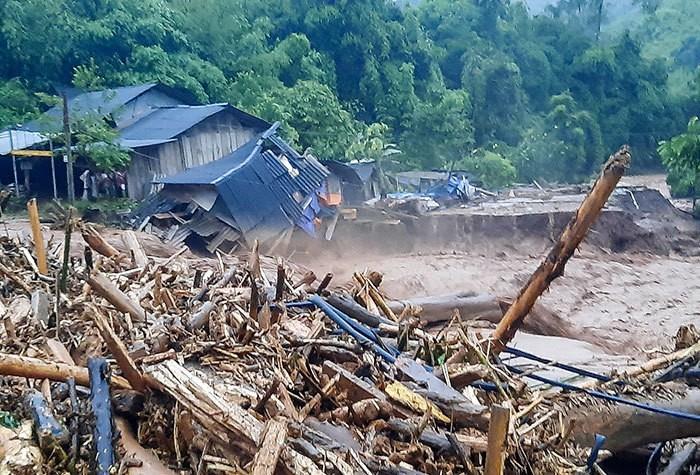 Nhiều hộ dân Điện Biên, Quảng Ninh phải sơ tán do mưa lũ  - ảnh 1