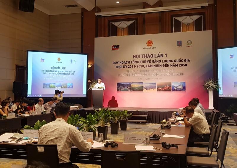 Việt Nam lập quy hoạch tổng thể về năng lượng quốc gia - ảnh 1