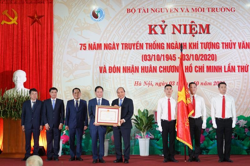 Thủ tướng dự lễ kỷ niệm 75 năm ngành Khí tượng thủy văn - ảnh 2