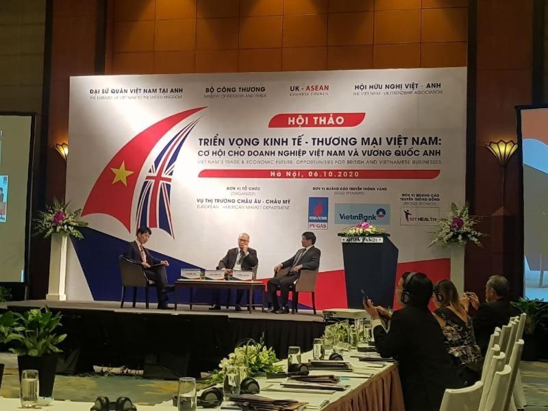 Vương quốc Anh đang có 400 dự án đầu tư vào Việt Nam - ảnh 1