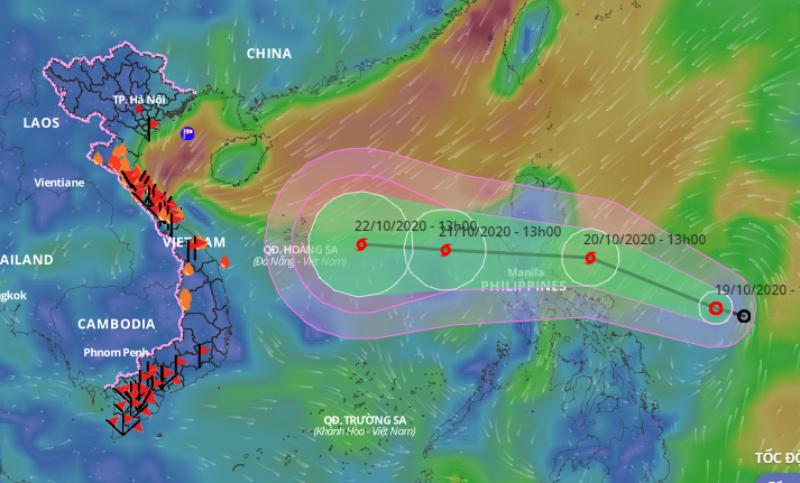 Biển Đông sắp có cơn bão mới hướng vào Trung bộ - ảnh 1