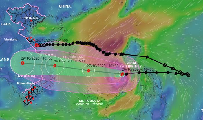 Công điện hỏa tốc của Thủ tướng về ứng phó bão Molave - ảnh 1
