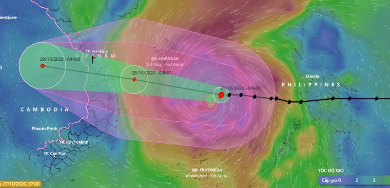 Sơ tán gần 600.000 người từ Huế đến Phú Yên để tránh bão số 9 - ảnh 1