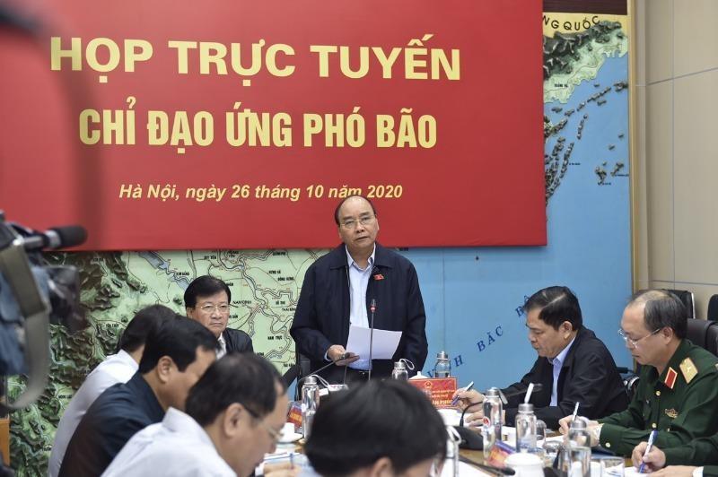 Thủ tướng thành lập Ban chỉ đạo tiền phương ứng phó bão số 9 - ảnh 1