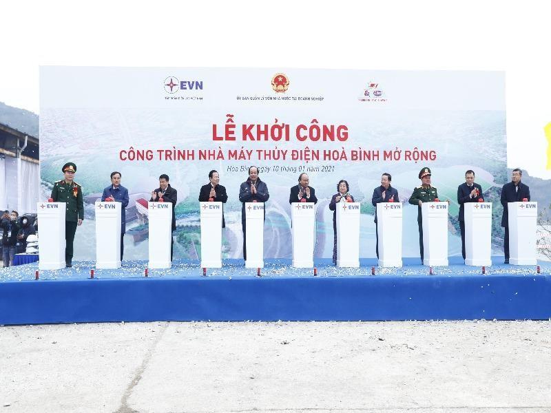 Khởi công nhà máy thủy điện Hòa Bình mở rộng hơn 9.000 tỉ - ảnh 2