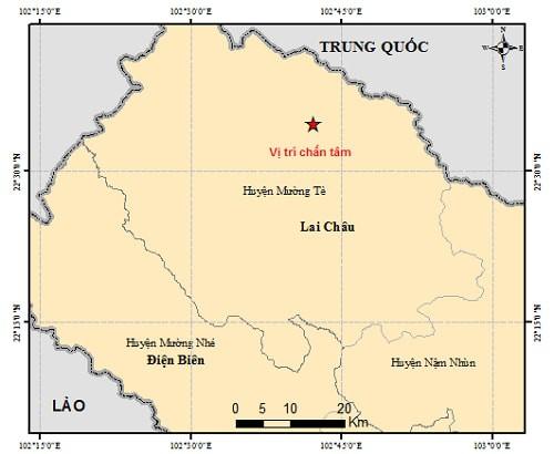 Xảy ra động đất ở Lai Châu và Vân Nam, Trung Quốc - ảnh 1