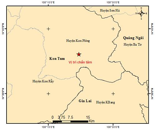 Vì sao chỉ trong một tuần, Kon Tum xảy ra 6 trận động đất? - ảnh 1