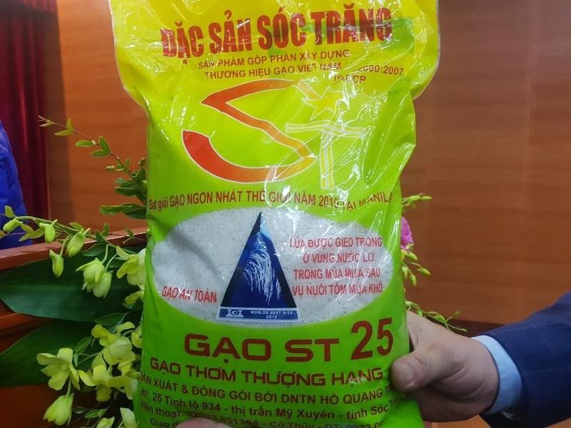 Bộ NN&PTNT sẽ mua lại bản quyền giống lúa ST24, ST25? - ảnh 1