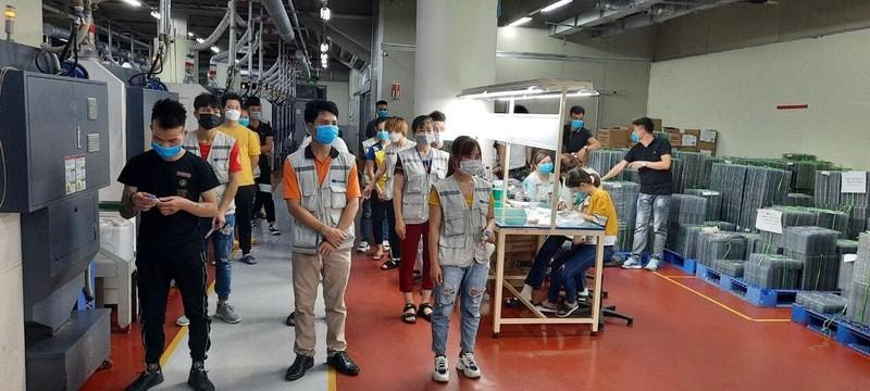 Dịch phức tạp, lao động khu công nghiệp ở Bắc Giang giảm mạnh - ảnh 2