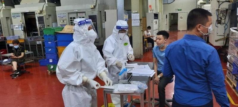 Dịch phức tạp, lao động khu công nghiệp ở Bắc Giang giảm mạnh - ảnh 1