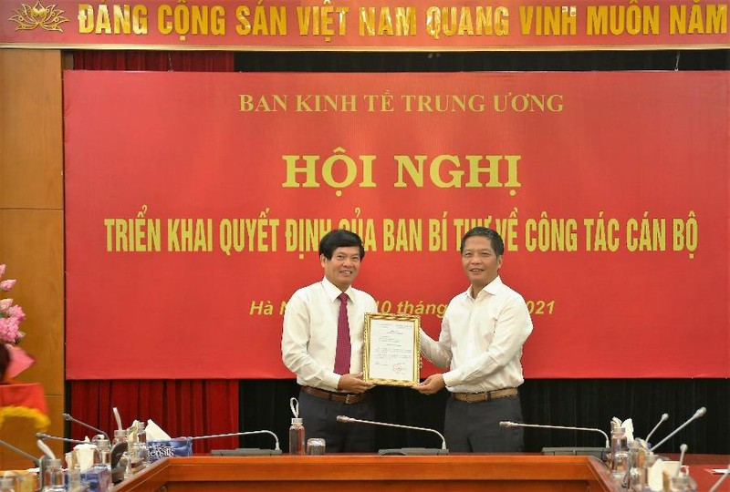 Ông Đỗ Ngọc An làm Phó Trưởng Ban Kinh tế Trung ương - ảnh 1