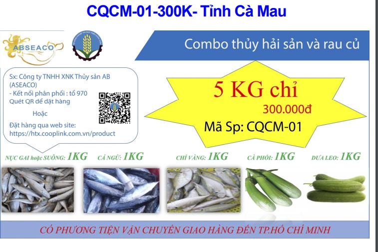 Công bố nhiều địa chỉ cung cấp combo rau, thịt, cá...tại phía Nam - ảnh 1