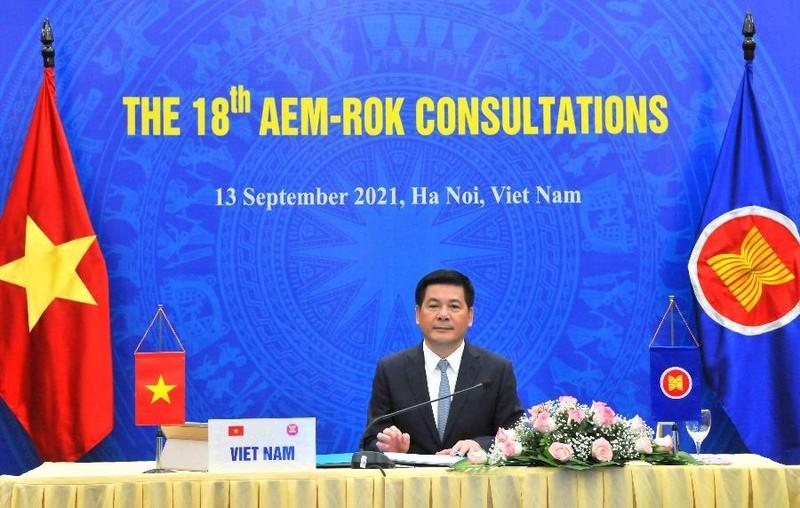 Bộ trưởng Kinh tế các nước ASEAN và đối tác kêu gọi đoàn kết chống dịch  - ảnh 1