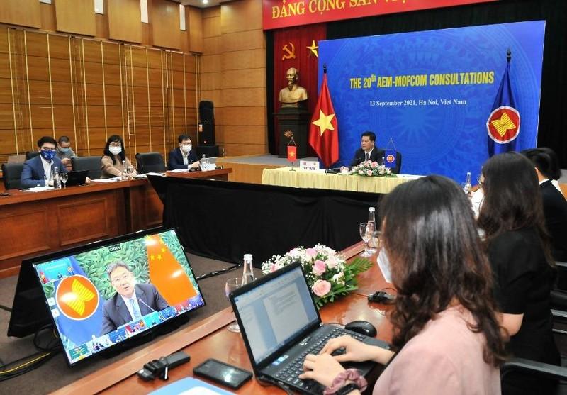 Bộ trưởng Kinh tế các nước ASEAN và đối tác kêu gọi đoàn kết chống dịch  - ảnh 2