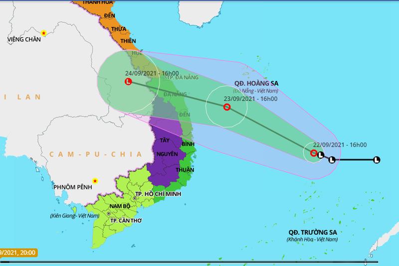 Khẩn cấp: Áp thấp nhiệt đới có thể mạnh lên thành bão, di chuyển rất nhanh - ảnh 1