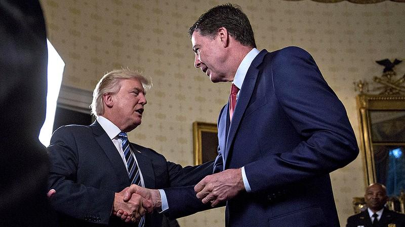 Sa thải giám đốc FBI, ông Trump bị cho là có ý ém nhẹm - ảnh 1