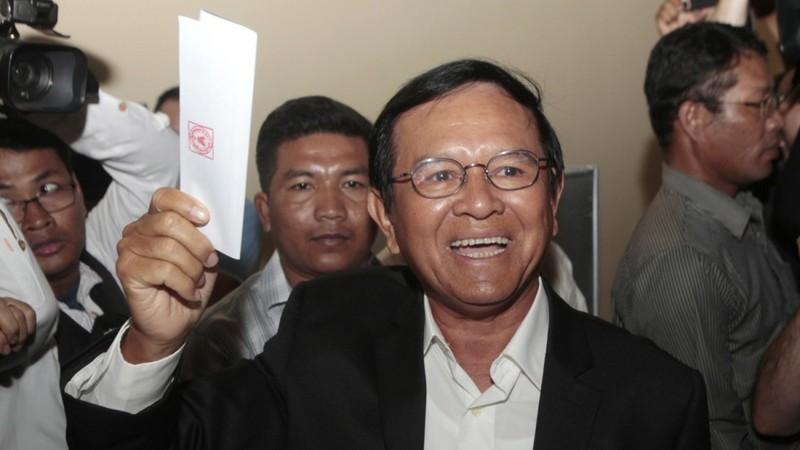Đảng đối lập Campuchia bị yêu cầu giải tán - ảnh 1