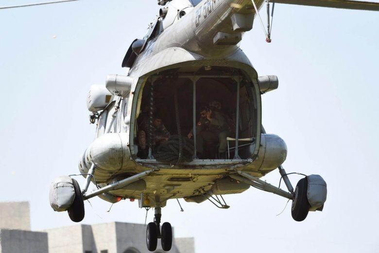 Trực thăng Ấn Độ rơi gần biên giới Trung Quốc - ảnh 1
