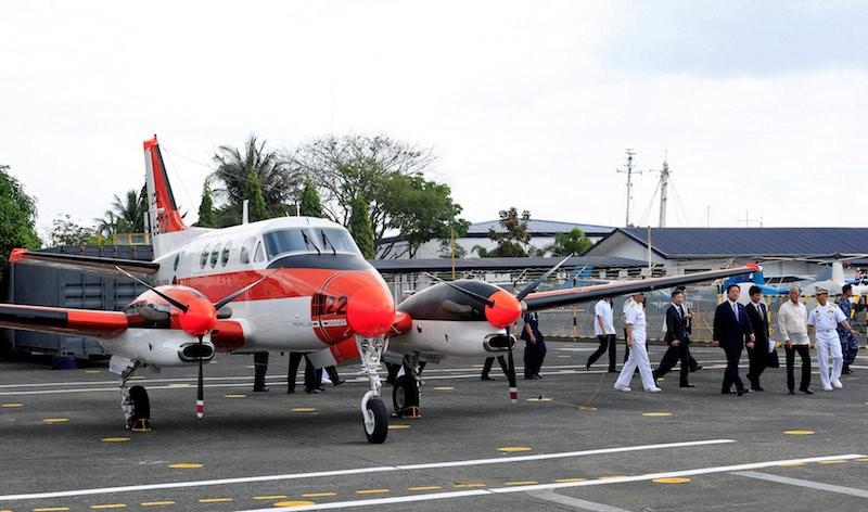 Nhật Bản tặng Philippines 5 máy bay hải quân - ảnh 1