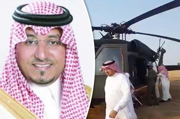 Rơi trực thăng, hoàng tử và quan chức Saudi thiệt mạng - ảnh 1