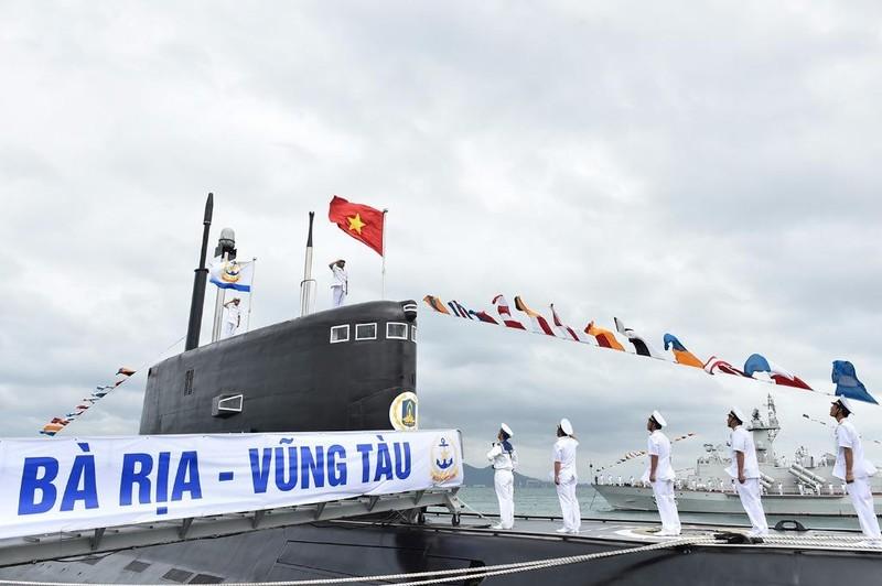 Thủ tướng dự lễ thượng cờ 2 tàu ngầm Đà Nẵng, BR-VT - ảnh 3