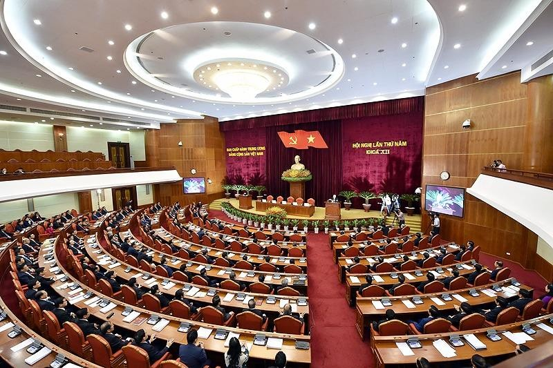 Bế mạc Hội nghị Trung ương 5: Sẽ ban hành 3 nghị quyết - ảnh 1