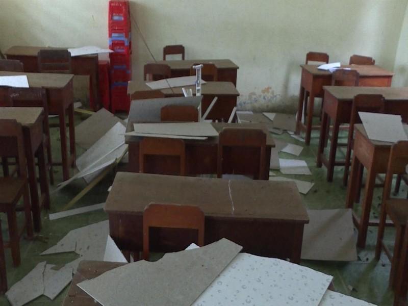 9 học sinh trong vụ sập la phông đã về nhà - ảnh 1