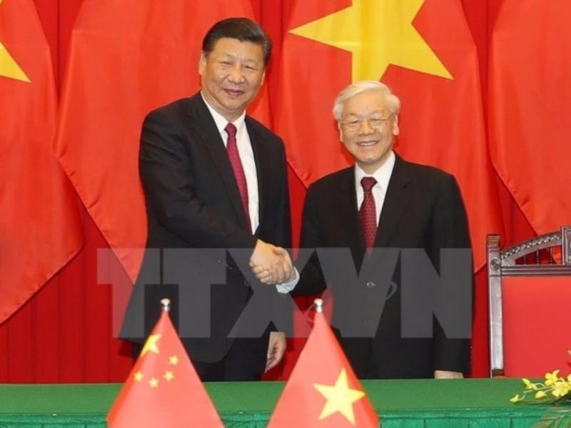 Toàn văn Tuyên bố chung Việt Nam - Trung Quốc - ảnh 1