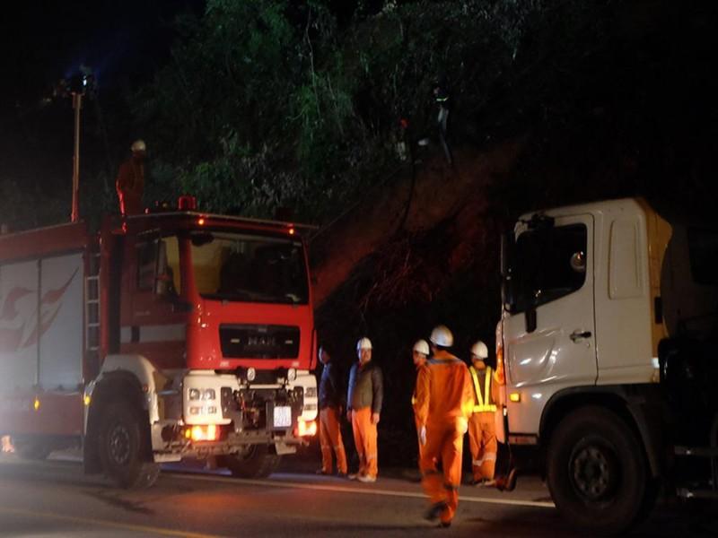 Cháy lớn tại rừng Nam Hải Vân - ảnh 1