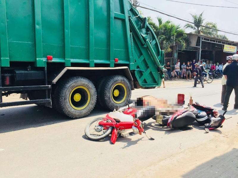 Bình Chánh: Nam sinh lớp 10 tử nạn dưới bánh ô tô - ảnh 1