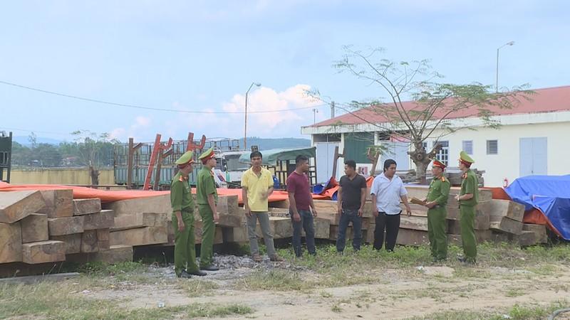 Lâm tặc dùng 5 công nông chở gỗ lậu về nhà - ảnh 1