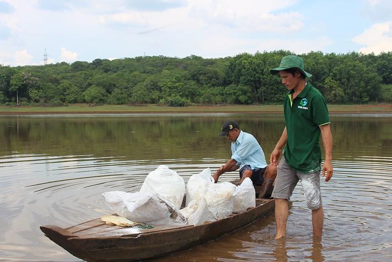 Bình Phước thông tin vụ 'cà phê pin' và cá chết hàng loạt - ảnh 2