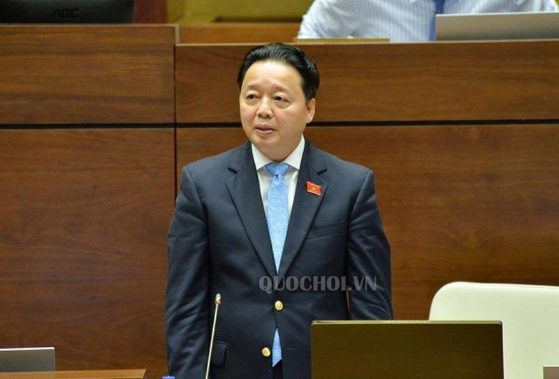 Bộ trưởng TN&MT nói về vụ muốn nhận chìm 1 triệu m3 bùn, cát - ảnh 1