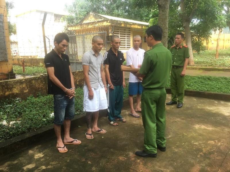 Nhóm thanh niên ở nhiều tỉnh rủ nhau lên Đắk Lắk trộm xe - ảnh 1