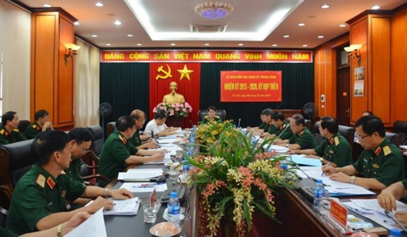Bầu bổ sung 2 phó chủ nhiệm Ủy ban Kiểm tra Quân ủy Trung ương - ảnh 1