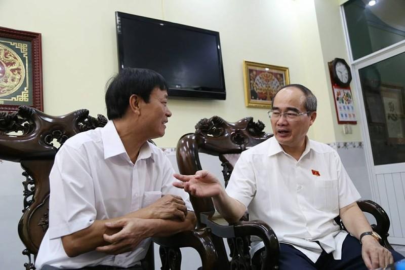 Bí thư Nguyễn Thiện Nhân gặp gỡ cử tri quận 2 và 4 - ảnh 3