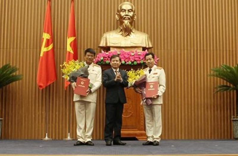 Công bố quyết định của Chủ tịch nước về công tác cán bộ - ảnh 1