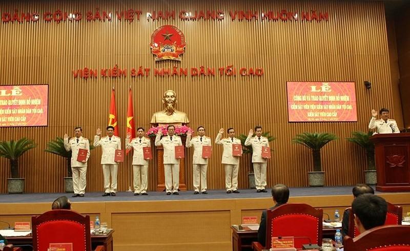 Công bố quyết định của Chủ tịch nước về công tác cán bộ - ảnh 3