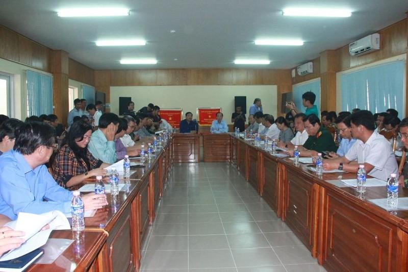 Bộ trưởng Nguyễn Xuân Cường thị sát chống bão tại Cần Giờ - ảnh 2