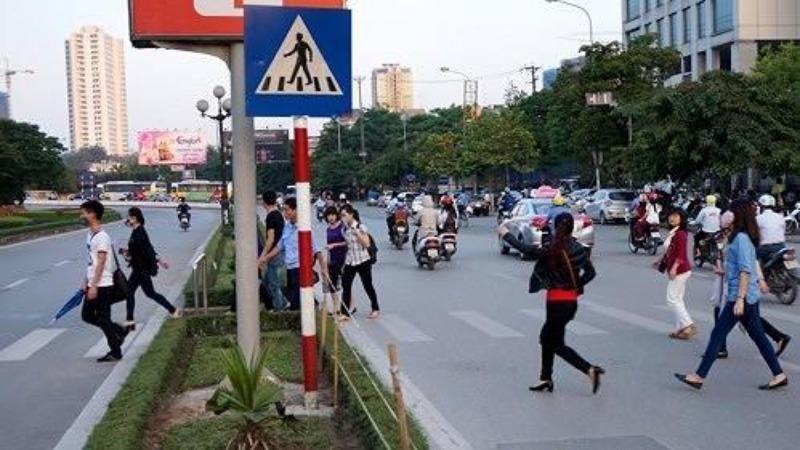 2% vụ tai nạn giao thông là do người đi bộ - ảnh 3