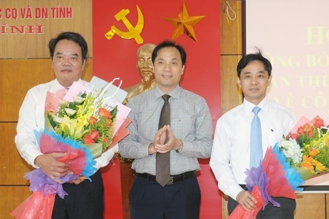 Nhân sự mới 3 tỉnh miền Trung - ảnh 1