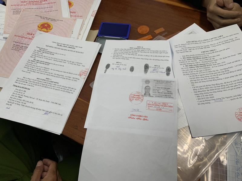 Giả công chứng viên công chứng giấy tờ dỏm - ảnh 2